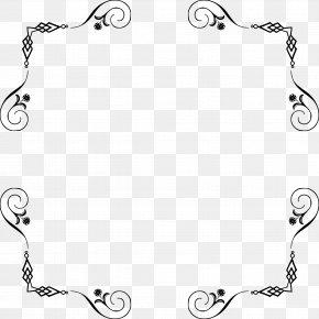 Elegant Frame - Picture Frames Borders And Frames Clip Art PNG