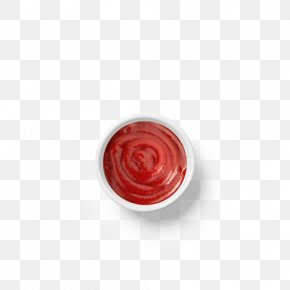 Small Bowl Of Tomato Sauce - Red Circle PNG