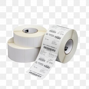 Paper Roll - Thermal Paper Label Thermal-transfer Printing Zebra Technologies PNG