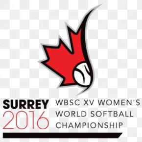 Baseball - 2016 Women's Softball World Championship Women's Baseball World Cup World Baseball Softball Confederation PNG