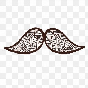 Hand-painted Pattern Beard - Beard Moustache Download PNG