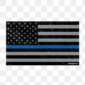 Creative American Flag - Flag Of The United States Thirteen Colonies Thin Blue Line PNG