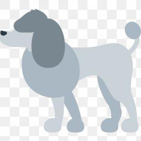 Poodle - Poodle Puppy Emoji Animal Dog Breed PNG