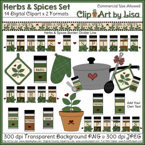 Spice Cliparts - Spice Baking Herb Cooking Clip Art PNG