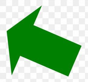 Green Up Right Arrow - Green Arrow Clip Art PNG