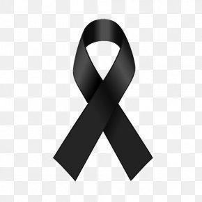 BLACK RIBBON - Black Ribbon Awareness Ribbon Red Ribbon AIDS PNG