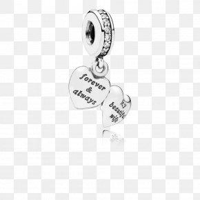 Pandora - Earring Charm Bracelet Pandora Cubic Zirconia Charms & Pendants PNG