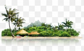 Cool Summer Vacation Island - Landscape Icon PNG