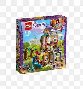 Toy - LEGO Friends LEGO 41340 Friends Friendship House Hamleys Toy PNG