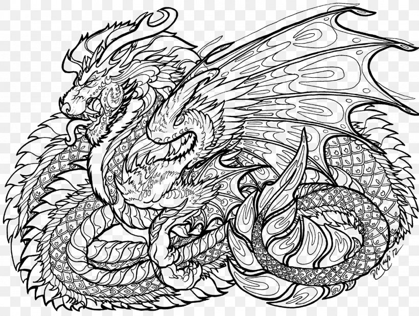 - Coloring Book Chinese Dragon Child Adult, PNG, 1448x1093px, Coloring Book,  Adult, Art, Artwork, Black And White