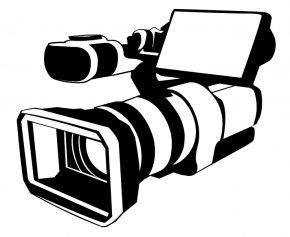Tv Camera Cliparts - Video Camera Logo Camera Operator Clip Art PNG