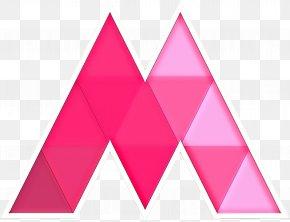 Logo Magenta - Pink Triangle Line Magenta Triangle PNG