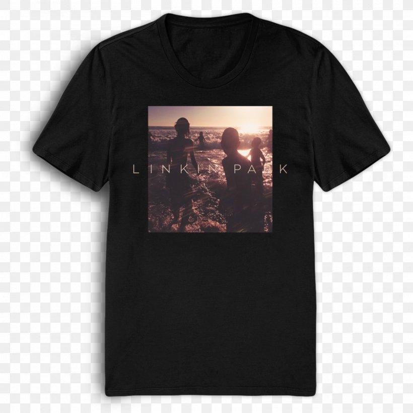 Linkin Park Album One More Light T Shirt Phonograph Record