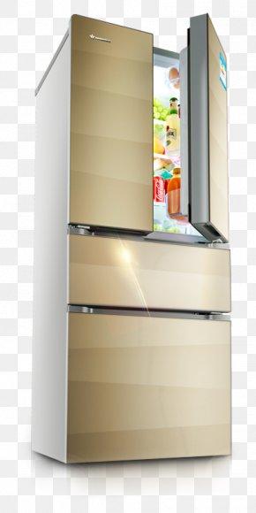 Refrigerator - Refrigerator Shelf Home Appliance PNG
