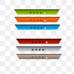 Color Web Buttons PNG