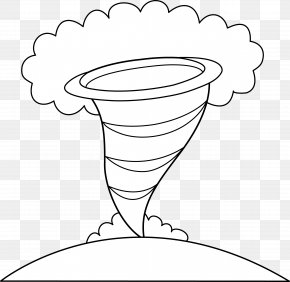 Cyclone Cliparts - Tornado Alley Coloring Book Drawing Clip Art PNG