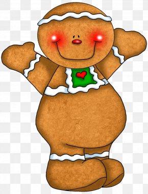 Cute Gingerbread Cliparts - Ginger Snap Gingerbread Man Clip Art PNG