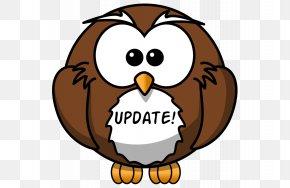 Cartoon Owl - Great Grey Owl Bird Clip Art PNG