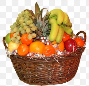 Basket - Basket Of Fruit Food Gift Baskets PNG