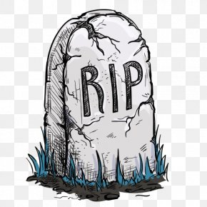 Cartoon Cemetery - Headstone Grave Tomb Clip Art PNG
