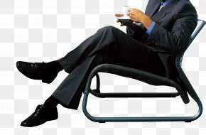 Business People - Chair Business Sitting PNG