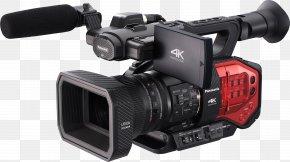 Video Camera - Video Cameras Panasonic AG-DVX100 4K Resolution Four Thirds System PNG
