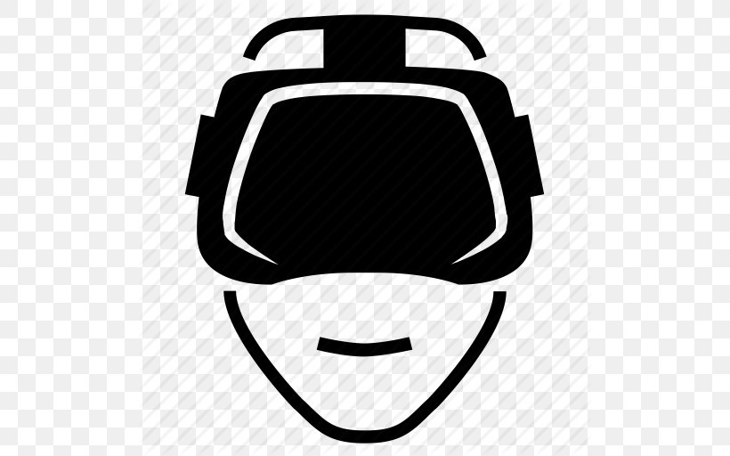 Oculus Rift Virtual Reality Icon Design Icon, PNG, 512x512px, Oculus Rift, Augmented Reality, Black, Black And White, Blog Download Free