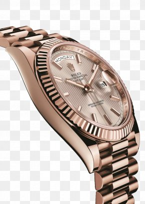 Rolex Rose Gold Watch Female Table - Rolex Datejust Rolex Submariner Rolex Daytona Rolex Day-Date PNG