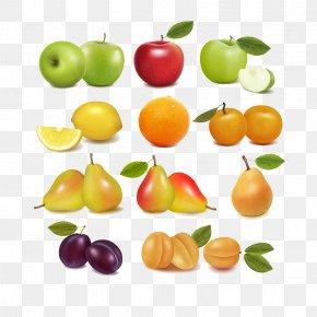 Fruits Element,apple,orange - Fruit Clip Art PNG