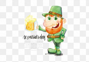 Western St. Patrick's Day Wizard - Ireland Saint Patricks Day St Patricks Athletic F.C. Illustration PNG