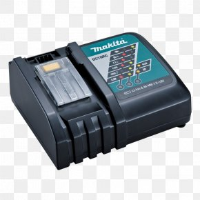 Battery Charger - Battery Charger Lithium-ion Battery Makita Electric Battery Nickel–metal Hydride Battery PNG