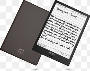 Android - Comparison Of E-readers Boox Sony Reader E-book PNG
