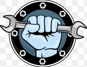 Decoration Company Logo - Hand Tool Wrench Fist Icon PNG