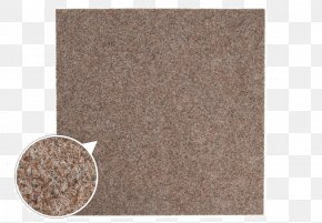 Carpet - Tapijttegel Carpet Brown Felt Beige PNG
