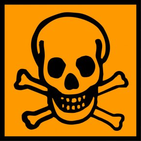 Crossbones Pictures - Warning Sign Hazard Symbol Death Human Skull Symbolism PNG