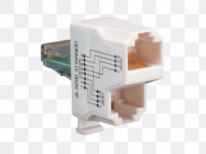 Rj45 - DSL Filter Electronics Computer Network Data Adapter PNG