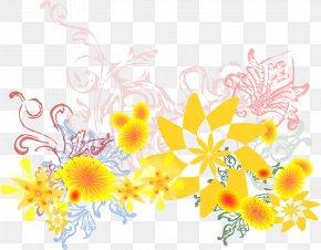 Flower Yellow - Flower Yellow Clip Art PNG