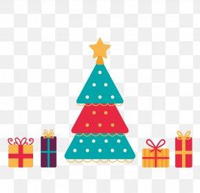 Christmas - Christmas Tree Gift Christmas Decoration Feliz Navidad PNG