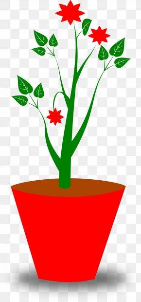 Potted Plant Cliparts - Flowerpot Free Content Clip Art PNG