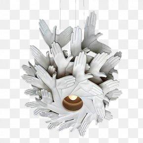 Ceramic Palm Light Bulb - Light Ceramic Computer File PNG