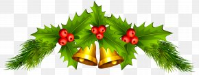 Christmas Bells Clip Art Image - Christmas Decoration Santa Claus Jingle Bell Clip Art PNG
