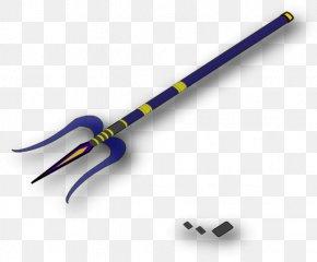 Om Trishool Cliparts - Poseidon Trident Triton Spear Clip Art PNG