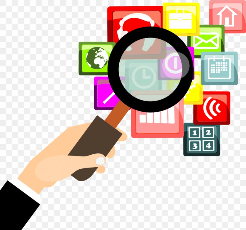 Magnifying Glass Icon, PNG, 917x857px, Magnifying Glass, Area, Communication, Drawing, Flat Design Download Free