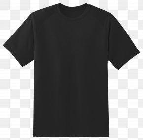 Black T Shirt - T-shirt Top Sleeve Clothing PNG