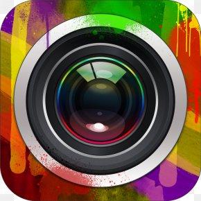 Superimposed - Camera Lens Film Frame PNG