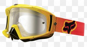 GOGGLES - T-shirt Goggles Fox Racing Glasses Motorcycle PNG