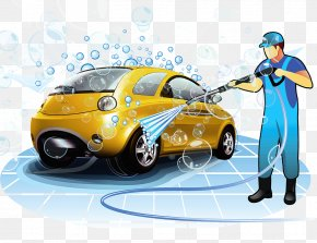 Car Washer - Car Wash Toyota Ist PNG