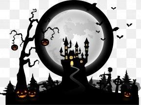 Halloween Horror Pictures Vector Material - Halloween Euclidean Vector PNG