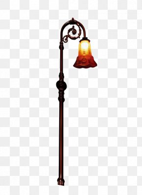 Chinese Style Retro Floor Lamp - Lighting Floor PNG