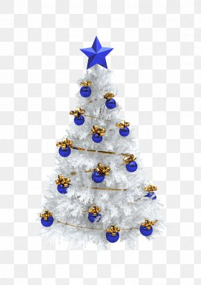 Christmas Tree - Christmas Tree Gift Christmas Ornament White PNG